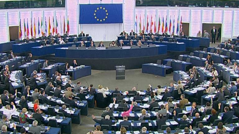 parlamento europeo reunión