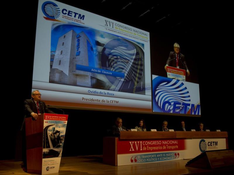 XVII Congreso Nacional de Empresarios de Transporte de CETM