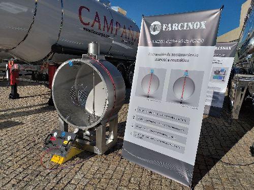 En el marco del XVII Congreso Nacional de Empresarios de Transporte CETM, Farcinox presenta en primicia dos importantes novedades para sus vehículos
