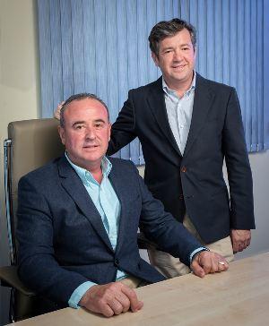 Miguel A.Muñoz Jaime y Juan Francisco Sanz Gerentes Farcinox, Farcinox instalaciones, Fabricantes líderes de cisternas ATP y ADR para el transporte por carretera