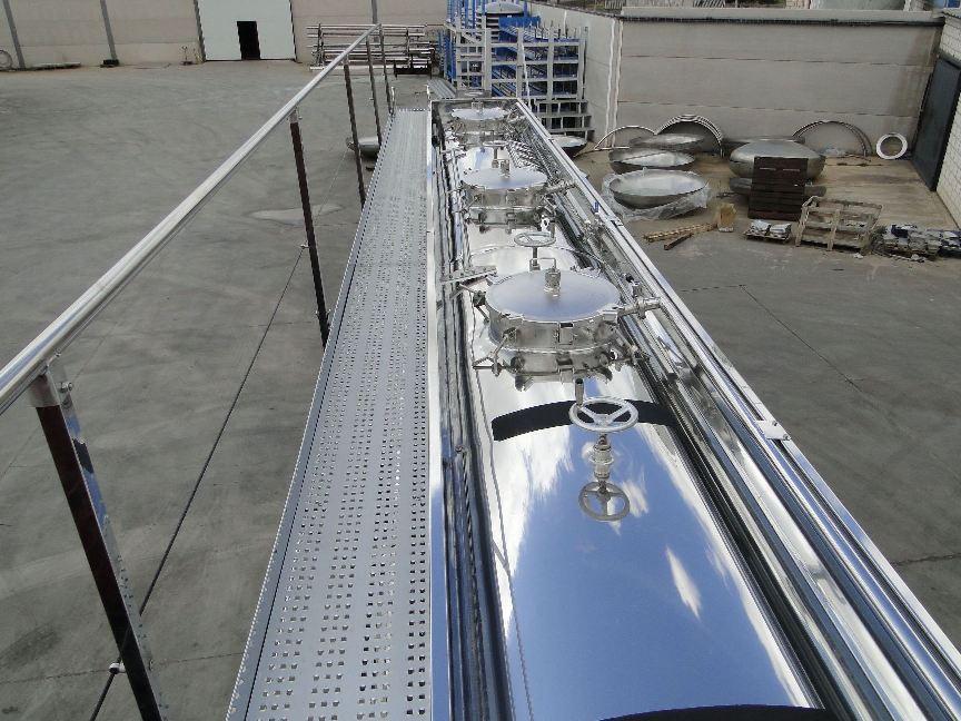 Fabricación de cisternas