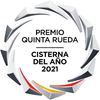 Farcinox Moduline V.2 recibe el premio Quinta Rueda 'Cisterna del Año 2021' de los Premios Nacionales del Transporte